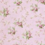 Tudor Rose Wallpaper DE41404 By SK Filson For Dixons Exclusive